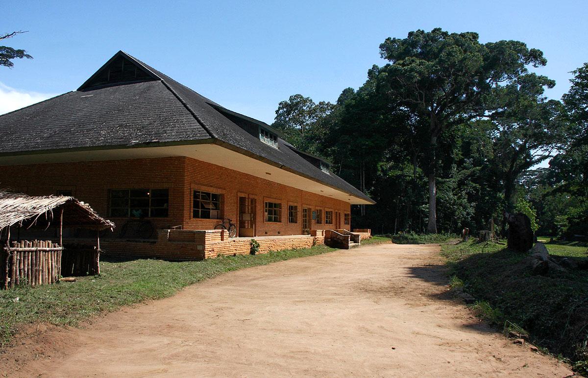 Herbarium building, Yangambi.