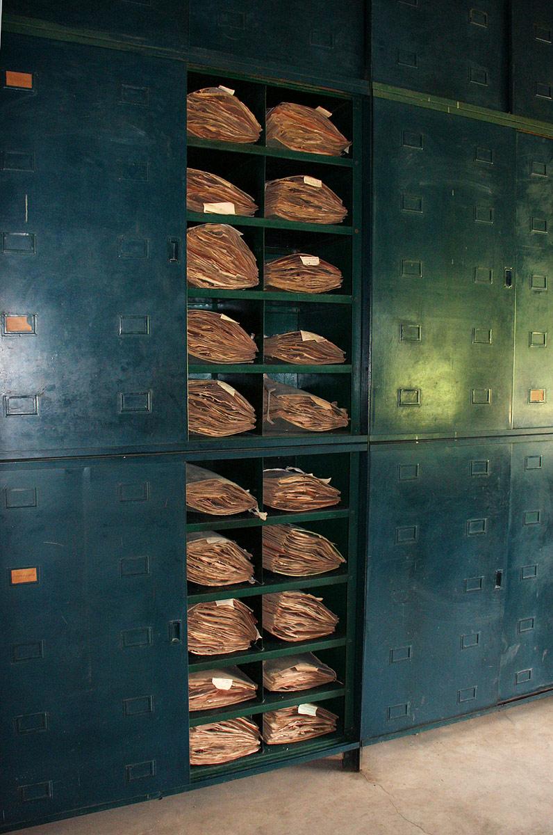 Specimen cupboards