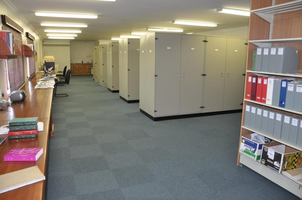 Interior of herbarium