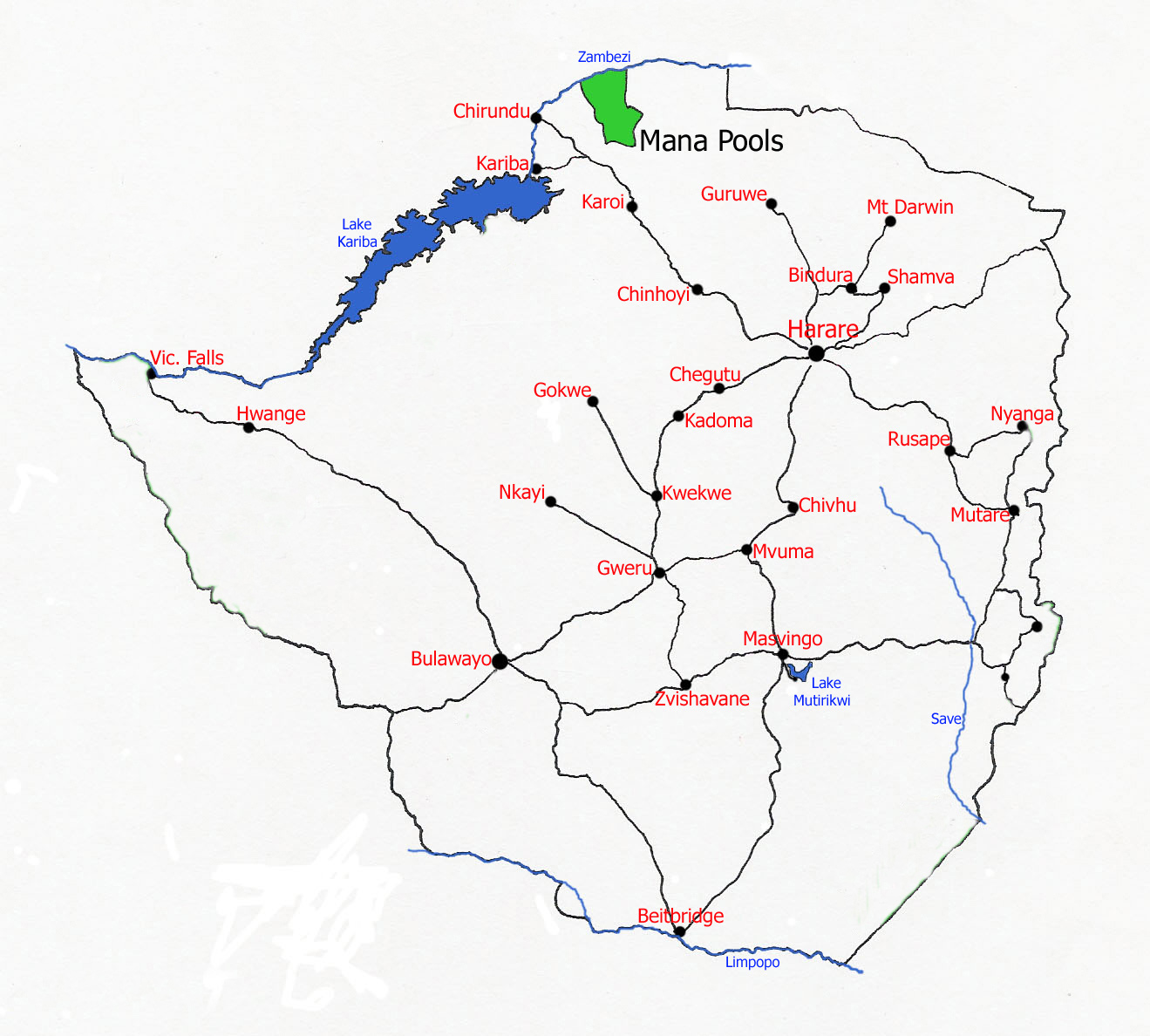 World Heritage Sites in Zimbabwe