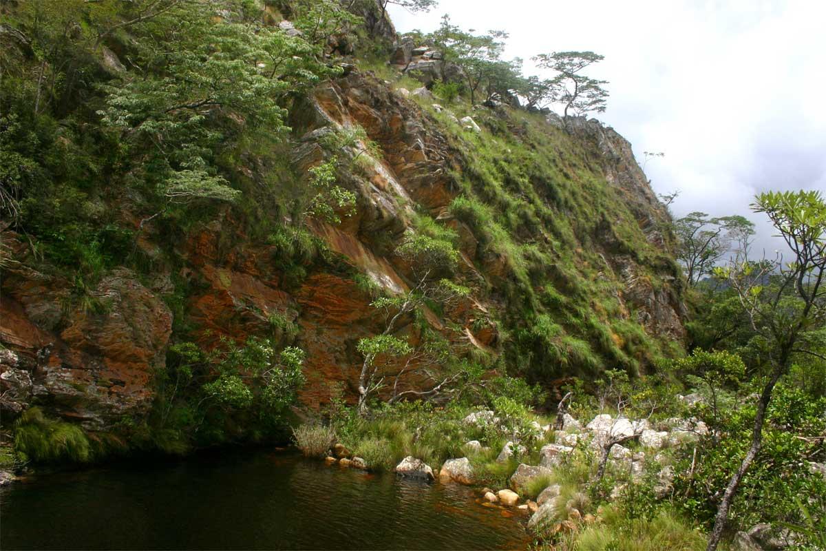 Pool below Muhohwa Falls