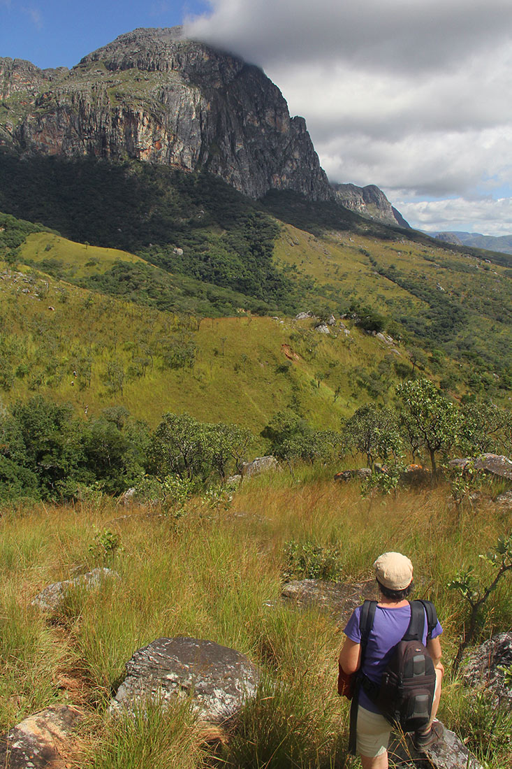 On the way to Mt Dombe
