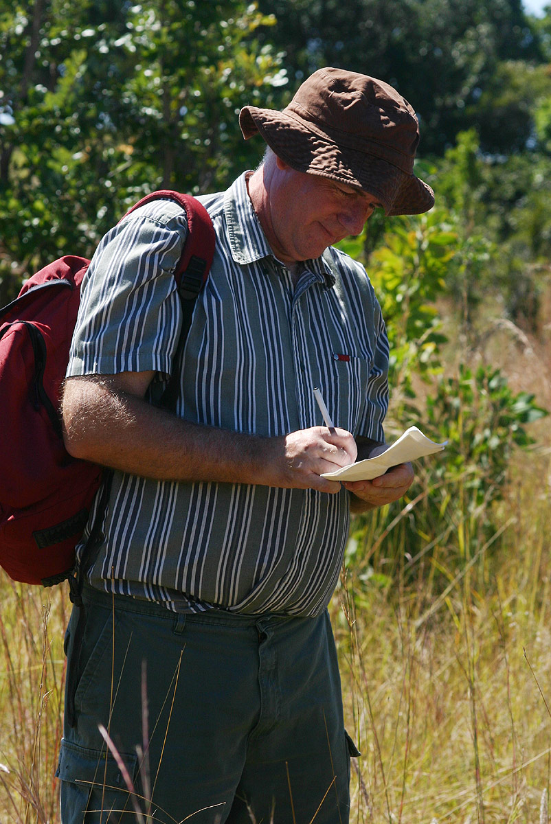 Mark recording at Cleveland Dam
