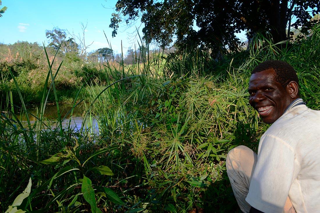 Paulo by Nhamacoa River.